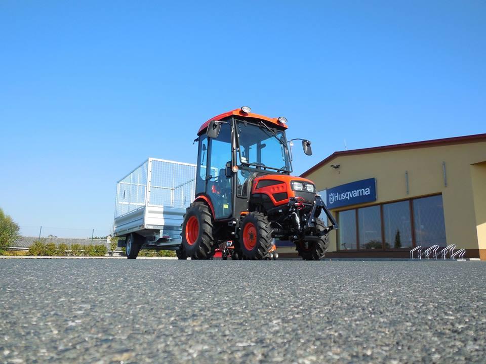 Profesionální traktory KIOTI najdou využití při údržbě veřejných prostranství