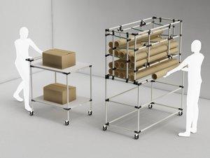 Pracovní prostor dle LEAN zásad usnadňuje práci zaměstnancům a zvyšuje efektivitu výroby
