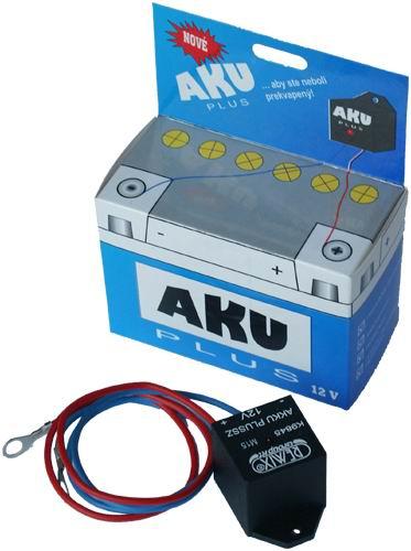 Omezte usazování sulfátů a prodlužte životnost baterie s AKU PLUS