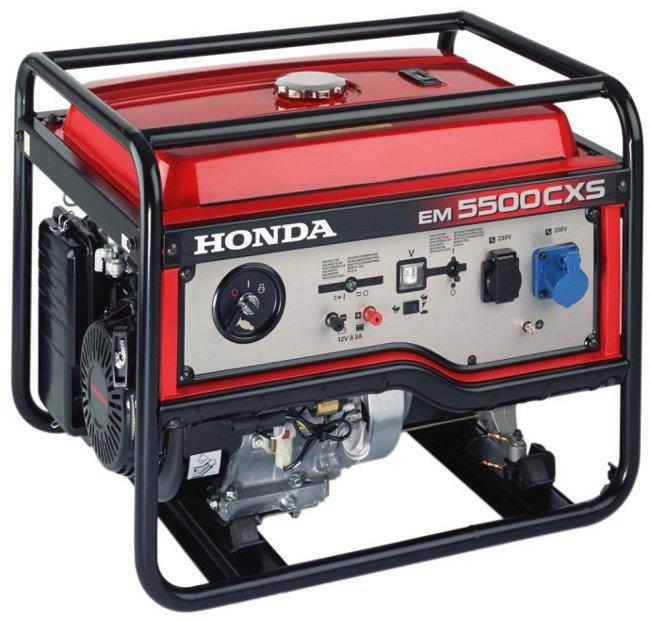 Honda elektrocentrály pro využití na stavbách a v terénu