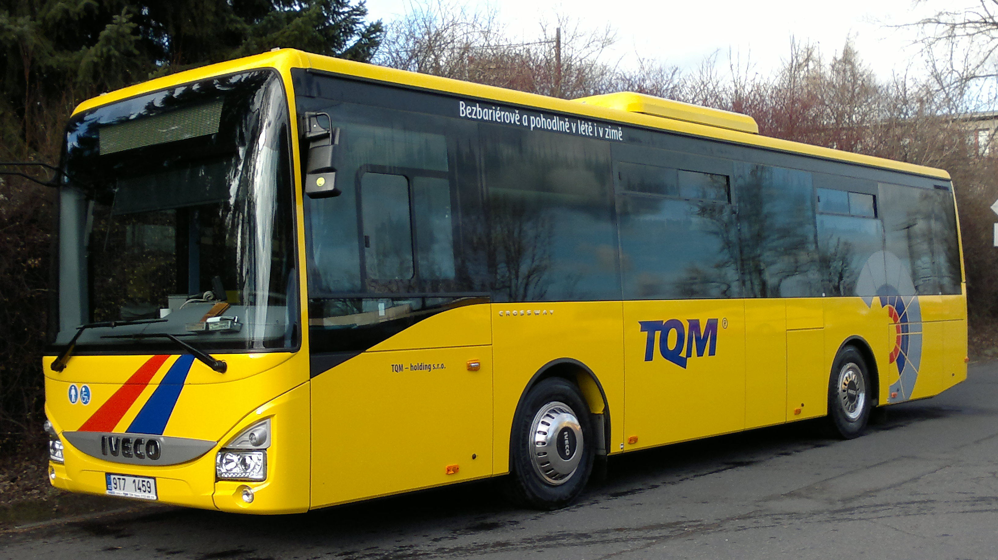 Příležitostná zájezdová doprava komfortními autobusy s bezbarierovým přístupem