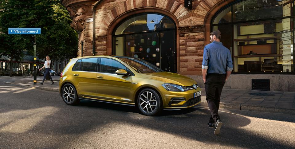 Automobily VW - model Nový Golf, INTERMOBIL Znojmo