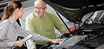 Výměna chladicí kapaliny, autorizovaný servis VW, Znojmo