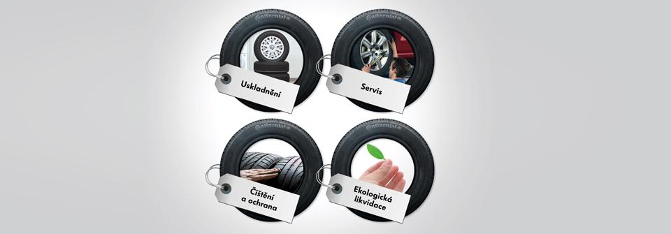 Služby pneuservisu, výměna kol, pneumatik, uskladnění pneumatik - pneuservis Znojmo