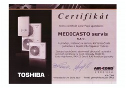 Certifikát - instalace tepelných čerpadel a klimatizací - bbklima99 s.r.o. Znojmo