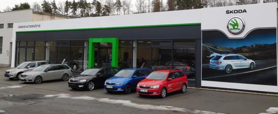 Horácké autodružstvo Třebíč - prodej a servis nových, předváděcích a ojetých vozů Škoda