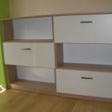 Výroba nábytku na zakázku do dětských a obývacích pokojů, Znojemsko