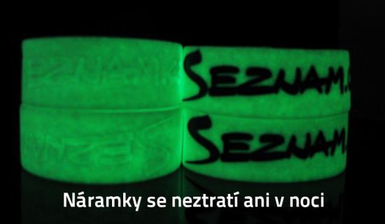 Svinovací reflexní náramky - IdentCore s.r.o. – silikonové náramky, Znojmo