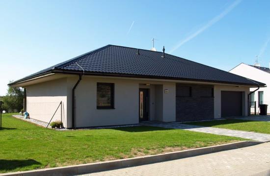 Ekologická dřevostavba typu bungalov, Vysočina