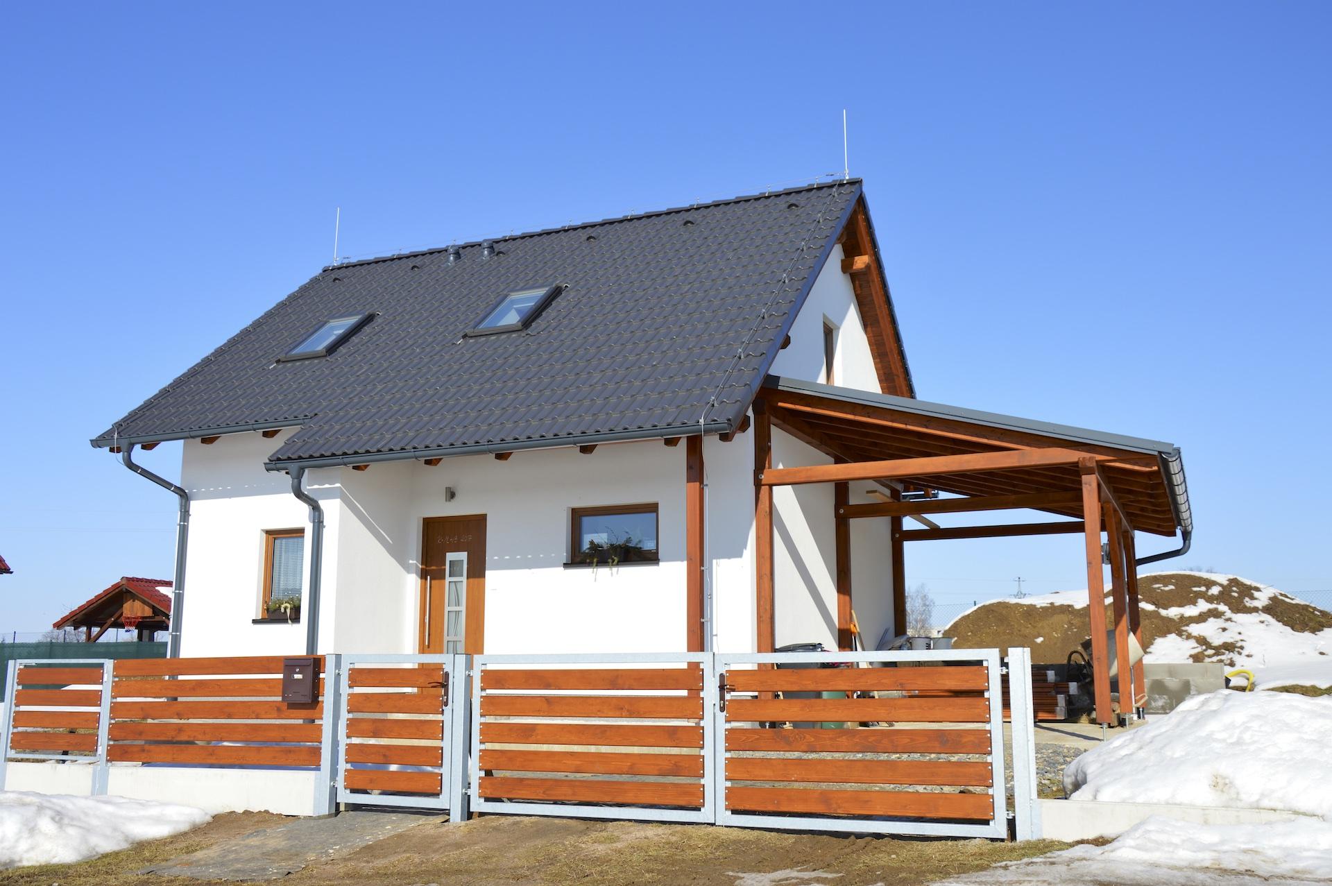 Realizace energeticky úsporných rodinných domů, kraj Vysočina
