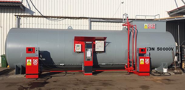 Pohodlné tankování díky systémům od společnosti UNIDATAZ s.r.o.