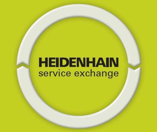 HEIDENHAIN Service Exchange pro opravu přístroje výměnným způsobem