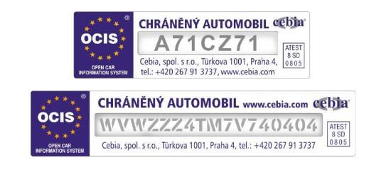 Ochraňte svůj vůz díky pískování nebo leptání VIN na okna - AUTOSKLO SERVIS CZ, s.r.o.