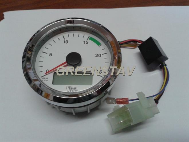 Otáčkoměry, čidla, světlomety a další díly pro elektroinstalace