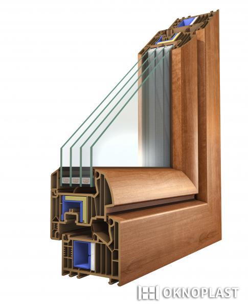 Plastová okna pro pasivní domy s inovačním tepelným zesílením, EVOokna Tomáš Makeš, Tulešice u Znojma