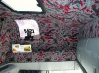 Vnitřní vybavení spací kabiny podle požadavků zákazníka