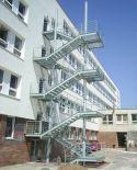 Ocelové schodišťové stupně, Jihomoravský kraj