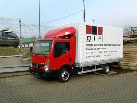 Svozová služba, doprava zakázek - Q.I.P. Brno - zakázkové kalení