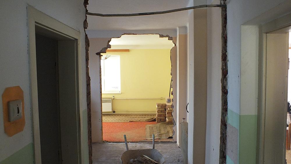 Rekonstrukci bytů a bytových jader zajistí společnost BAUFIRMA MPR s.r.o