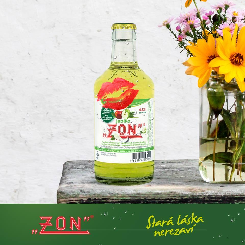 Společnost ZON, spol. s r.o. vyrábí limonády v ekologických, skleněných, vratných lahvích