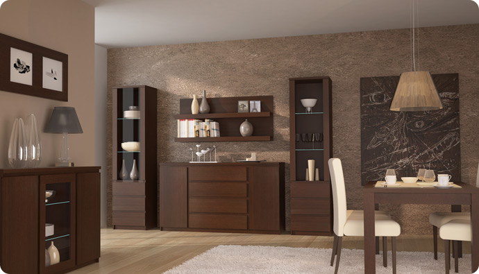 Slaďte Váš obývací pokoj s jídelnou díky nábytku od firmy Nábytek Brno Rostislav Životský