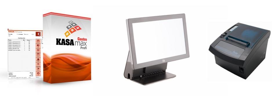 Pokladny a pokladní systémy pro elektronickou evidenci tržeb prodává společnost LESAK s.r.o.