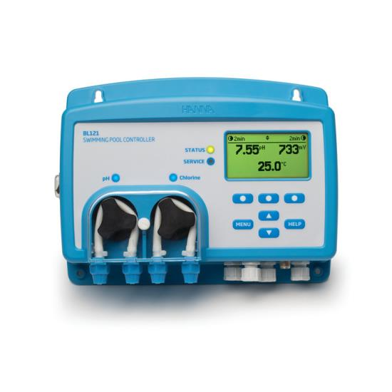 pH/ORP/T kontrolery pro bazény a SPA v e-shopu hanna-instruments.cz