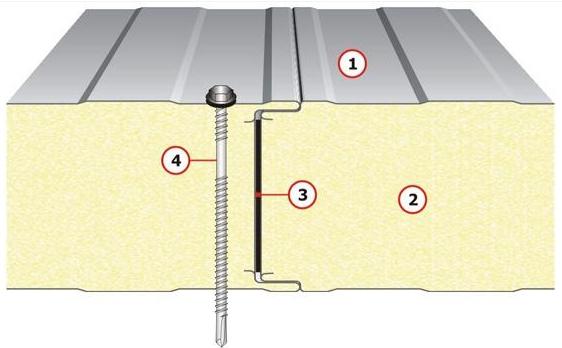Sendvičové izolační PUR panely dodává a montuje firma HALOVÉ SYSTÉMY s.r.o.