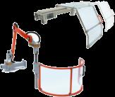 Ochranné kryty strojů dodává na český trh Teprostroj s.r.o. z Břeclavi