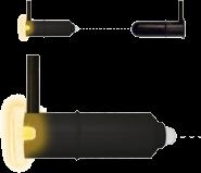 Komponenty s optickým senzorem pro bezpečnostní nárazové lišty Low-Power-SIGNAL