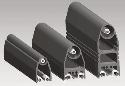Bezpečnostní rozpínací lišty z gumových profilů i montážních ALU profilů