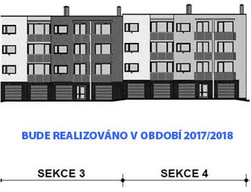 Projekt bytového komplexu Louka Znojmo