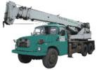 Automobilový jeřáb s teleskop. výložníkem se 3 výsuvnými díly