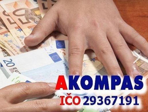 Nebankovní úvěr i půjčka na bydlení od společnosti AKompas s.r.o.