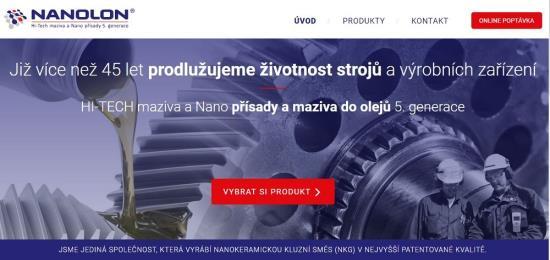 Přísady a maziva Nanolon na bázi uhlovodíků - Nanolon s.r.o., Brno