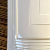 Oblouková ohýbaná kuchyňská dvířka - Draft Inc., s.r.o.