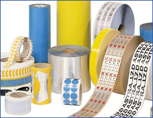 OLP oboustranně lepicí pásky pro využití v polygrafickém průmyslu -