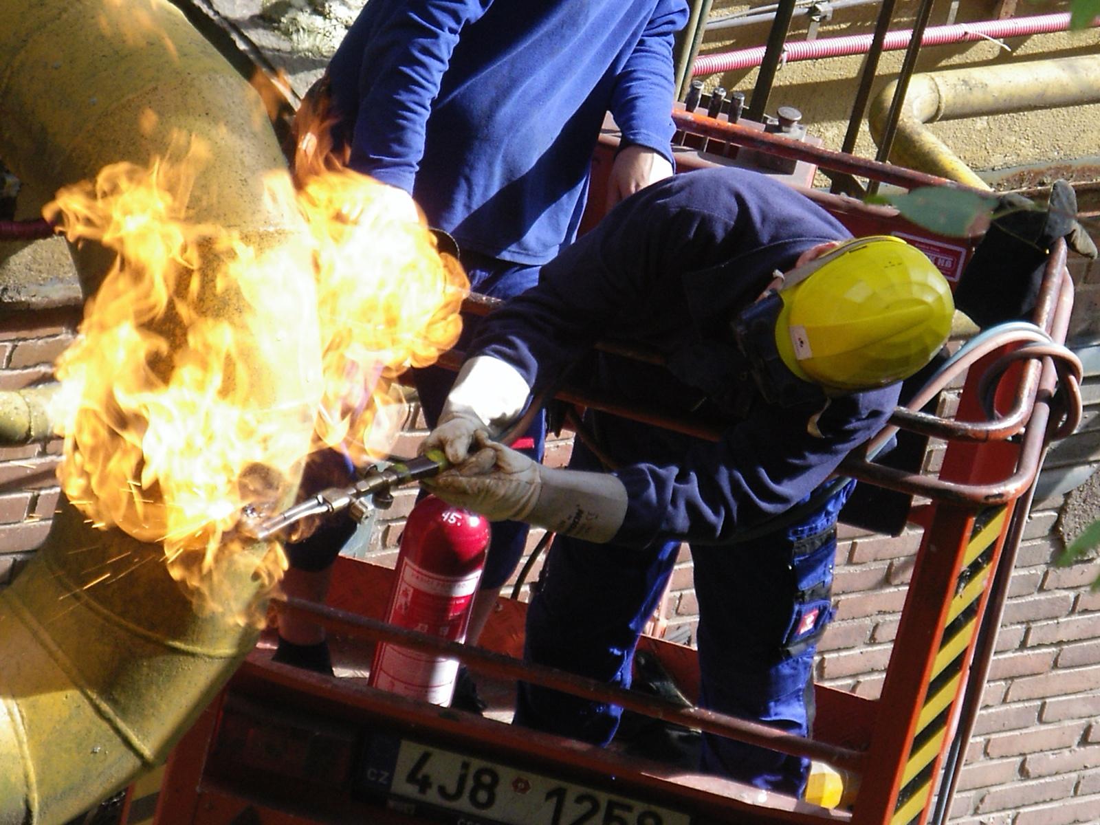 Komplexní rekonstrukce rozvodů plynu, opravy plynových zařízení