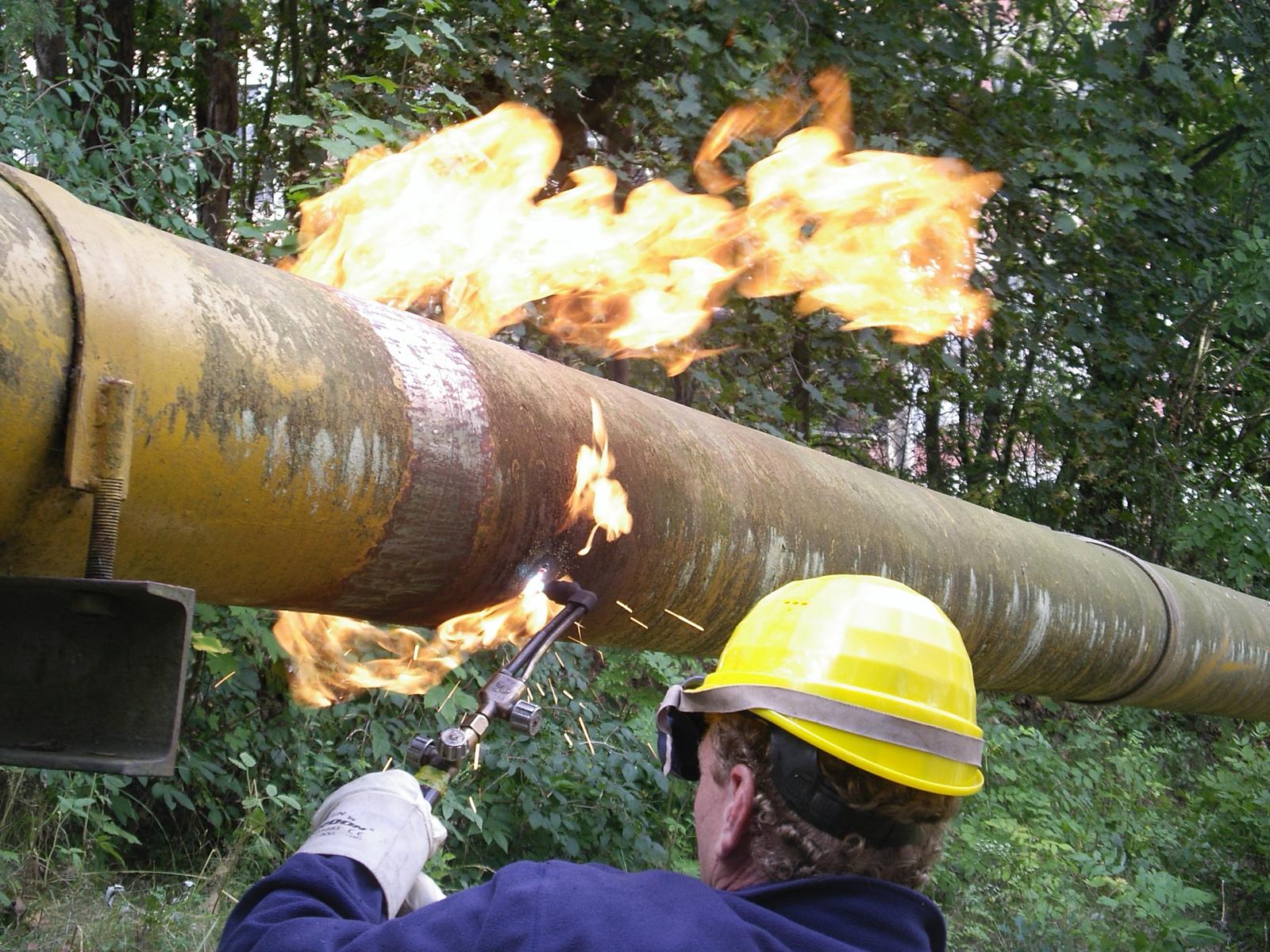 Opravy plynovodů, rekonstrukce plynových rozvodů