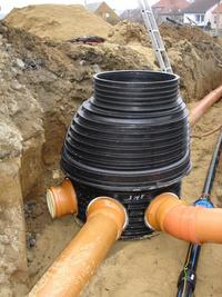 Budování kanalizací, montáže kanalizačních přípojek, Voda-topení-plyn SIGETY & ŠÁRKA s.r.o.