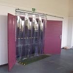 Odsouvací a shrnovací lamelové clony - PortaTherm s.r.o., Brno