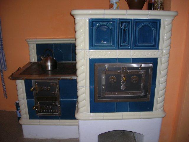 Kachlová kamna - efektivní zdroj vytápění, Jihlavsko