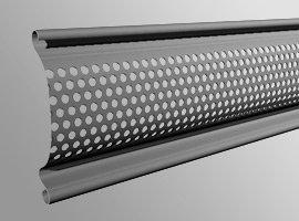 Hliníkové, ocelové lamely s perforací pro rolovací mříže - Garážová vrata a žaluzie Martin Mareček