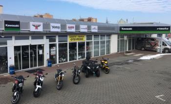Prodejna náhradních dílů na motocykly - Rimoto s.r.o. Třebíč