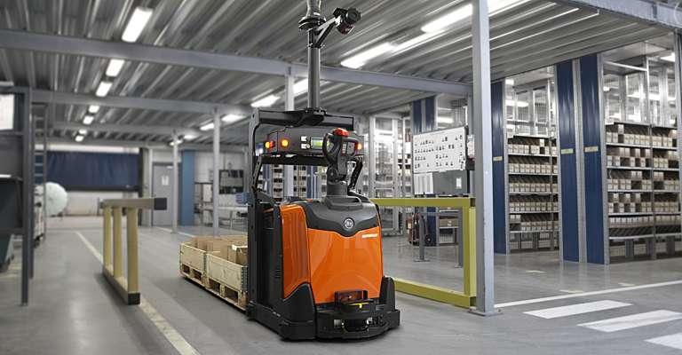 Automatizovaná řešení Autopilot od Toyota Material Handling CZ