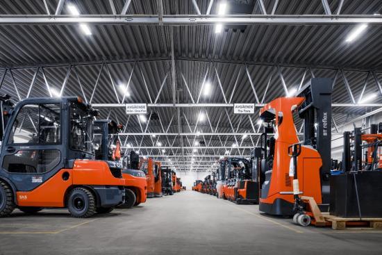 Pronájem a prodej použitých manipulačních vozíků - Toyota Material Handling CZ