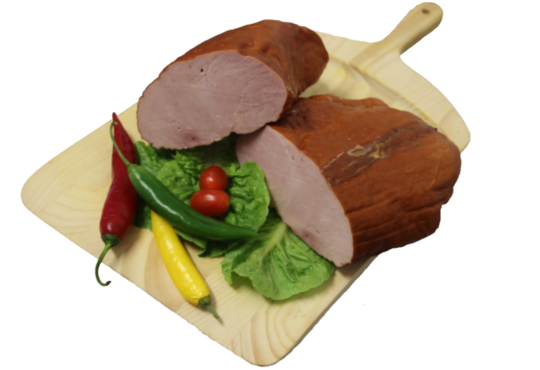 Uzená masa, anglická slanina, uzená žebírka vlastní výroby