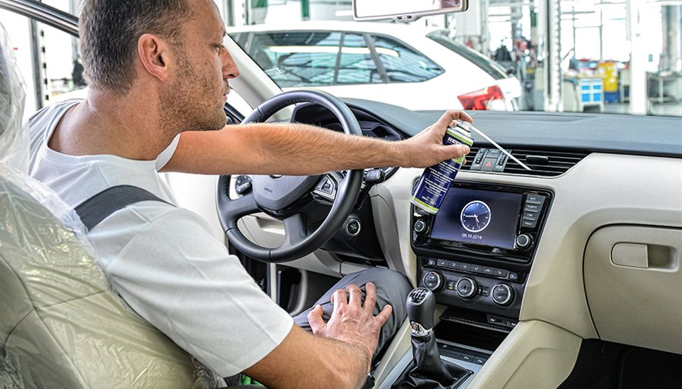 Údržba a opravy vozů Škoda, servis klimatizace, Vysočina