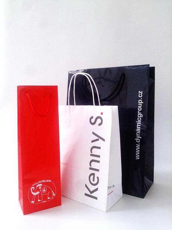 Společnost K + L, spol. s r.o. zajistí potisk tašek i obalového materiálů logem Vaší společnosti