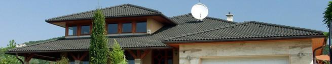 Betonové střešní tašky TERRAN se speciální povrchovou úpravou